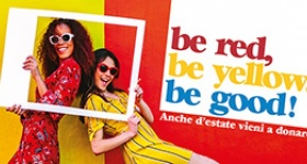 Be red, be yellow, be good: ecco la nuova campagna estiva di AVIS